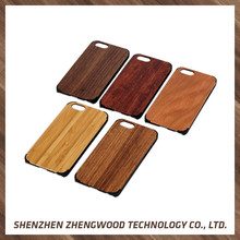 Hot selling mobile cases wood covers for cell phone for iphone 7 plus
