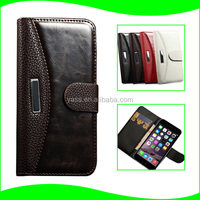 Classic Style PC And Pu Case for iphone 6, Wallet Phone Case Cover for iPhone6