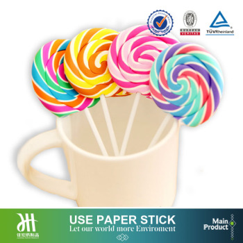 Candy floss long paper stick,paper cutting stick