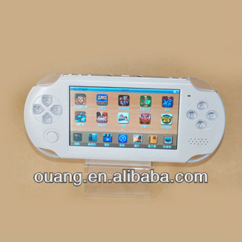 mp5 player 3D game console with 720P HD videos HDMI Port