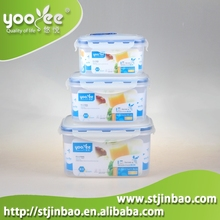 Stackable Plastic Food Container/Box Set