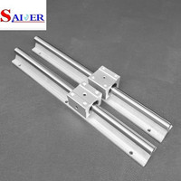High quality 20mm aluminium low price linear guide rail SBR20 for CNC Router