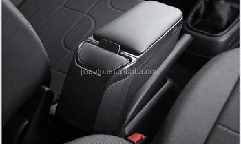 For Rio armrest PU Leather central Store content box with cup holder products accessories