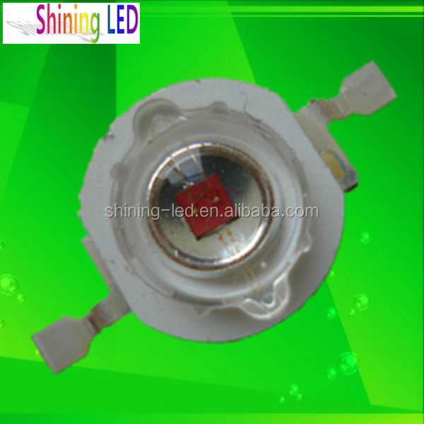 Epileds Chip 1W 3W 5W High Power Deep Red 650nm-660nm-670nm-680nm-690nm LED