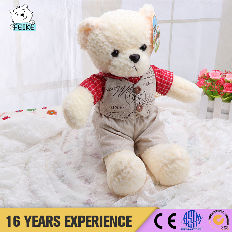 Manufacturers wholesale free samples plush teddy bear toys / wholesale plush bear toys / teddy bear toys