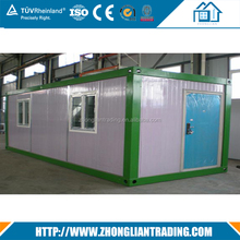 German low cost prefab 40 ft modern shipping container house for rent