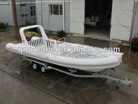 RIB730B Goethe CE Certified Inflatable Boat