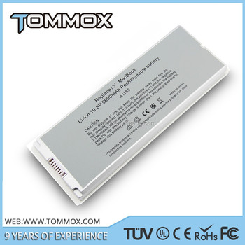 "Replacement 10.8v laptop battery A1181 A1185 for Apple MacBook 13"" MA561 MA566 MA255 MA472 MA699 MA700 MA701 for a1181 white"