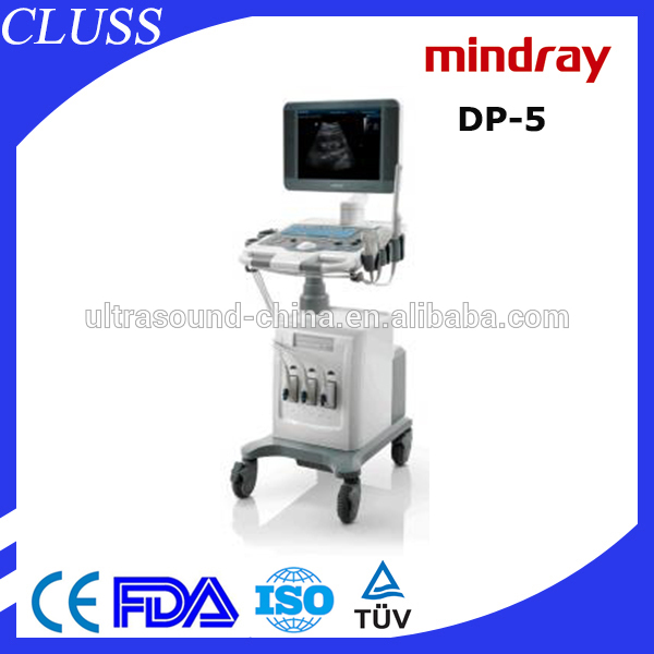 Lasted Design mindray DP-5 prices of color doppler ultrasound scanner