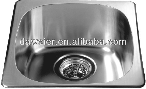 3236 single bowl stainless steel sink kitchen basin