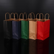 Hot selling colourful custom printing recycle kraft <strong>paper</strong> shopping bag