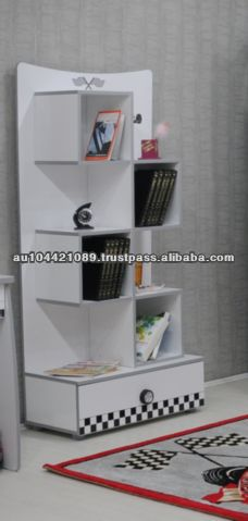 NEW 2014 Design Kids Bookshelf - White