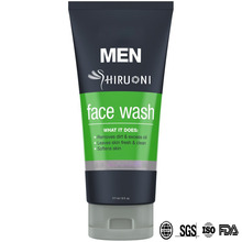 Men's Face Wash with Aloe Control Oil Moisturizing Facial Cleanser OEM