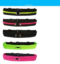 Chinese OEM sport waist bag in customized style