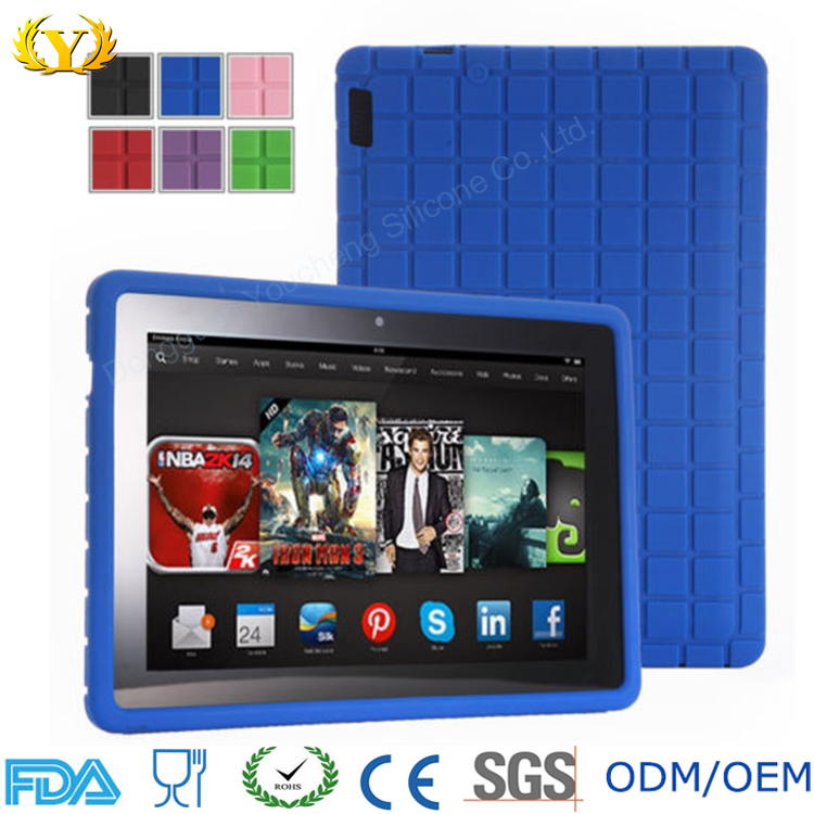 For ipad Silicone Gel Protective Case Tablet Soft Cover