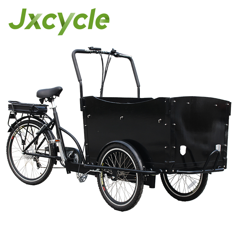 3 wheel electric bike/cargo tricycle for family or baby carring