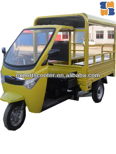 Hot Electric 8-10 passenger and cargo three wheel tricycle loader