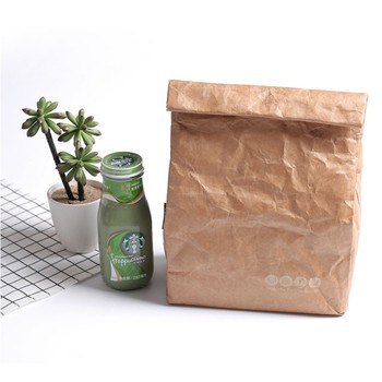 Portable Tyvek Lunch Bag foldable freshness protection package