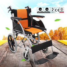 trade assurance portable reclining used manual wheelchair with bedpan