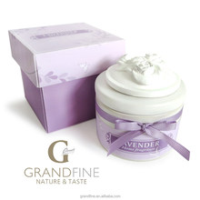 corporate gift supplier for sencted candle set in ceramic holder with paper gift box