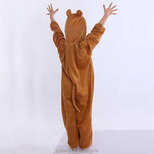 Popular Bear Mascot Costumes Cheap Cartoon Character Costume,Custom Made Cartoon One Piece Cosplay Onesie Kids Bear Costumes
