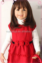 Whole sale low prices High quality synthetic doll wigs