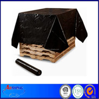 LDPE black builders plastic recycling films