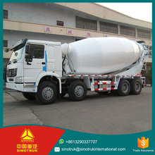 8*4 Sinotruck Howo 18 m3 Diesel Fuel type ready mix concrete mixer truck for sale