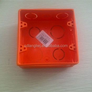 pvc electrical waterproof junction box