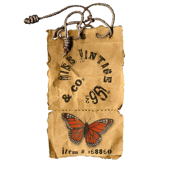 high quality china custom new design kraft paper jeans hang tag for clothing