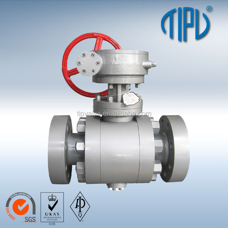 API6D Trunnion Mounted Flange Ball Valve Price