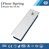 Concealed floor hinge for wooden door