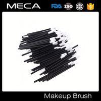 retractable powder brush Disposable Single Lip Brush Lipgloss Brush