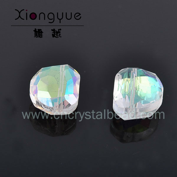 rainbow color combination glass beads