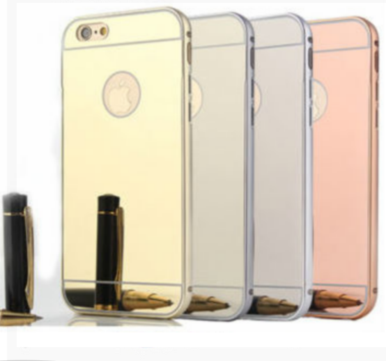 New products 2016 online Wholesale Shop Electroplating TPU Mirror Case Cover For iphone 6 6s plus 7 plus 5 5s