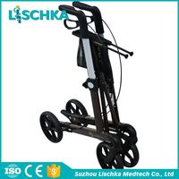China Made Professional Health care Security coated rollator