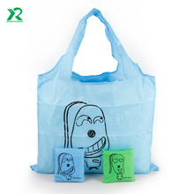 2017 new fashion China factory supply cheap recycled custom shopping bag folding tote bag