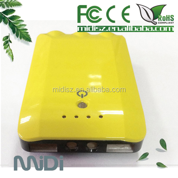Hot sell 7800mAh portable mobile charger /power bank asus