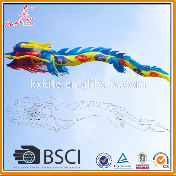 Large inflatable dragon kite for sale