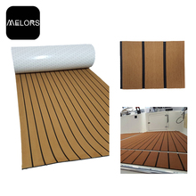 Melors 98in x 47in EVA Marine Foam Padding Teak Decking For Boat Non Skid Pads