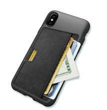 Premium Leather Wallet Case for iPhone X Card Slots Folio Flip Phone Case for Apple iPhone X