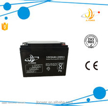 Global Market rechargeable 12v deep cycle battey 12v 24ah rechargeable Vrla storage battery 12 volt