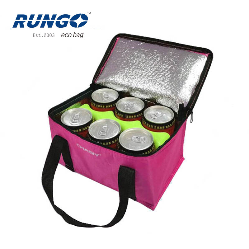 2018 Wholesale Water Beer Ice Cooler Bag,Aluminium Foil Cooler Bag , Lunch Insulated frozen Bag