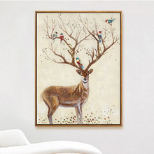 Hotselling Home Goods Wall Art Canvas Oil Painting With Frame