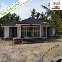 SGS 2015 new technology low cost foam concrete prefab timber home for sale