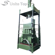 Unite Top Y82-100 hydraulic waste plastic compact baler with good quality