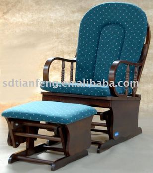 Recliner Glider Chair TF04T with cushion