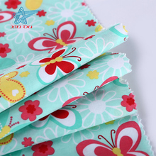 butterfly pattern custom printed 100% cotton cloth fabric for children