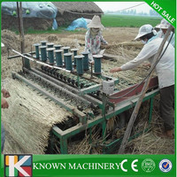 Farm machinery greenhouse automatic Reed/Rice/Grass/Wheat Straw Mat Knitting Machine