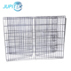 High quality black outdoor small iron wire dog runs chicken house pet cage